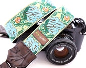 The Constance DSLR Camera Strap with Quick Release Buckles -- 1.5 inches wide