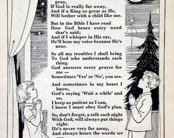 poem prayer of a black boy The full text of william blake's poem the little black boy.