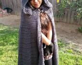 Crochet Pattern Instant Download PDF Cloak Design