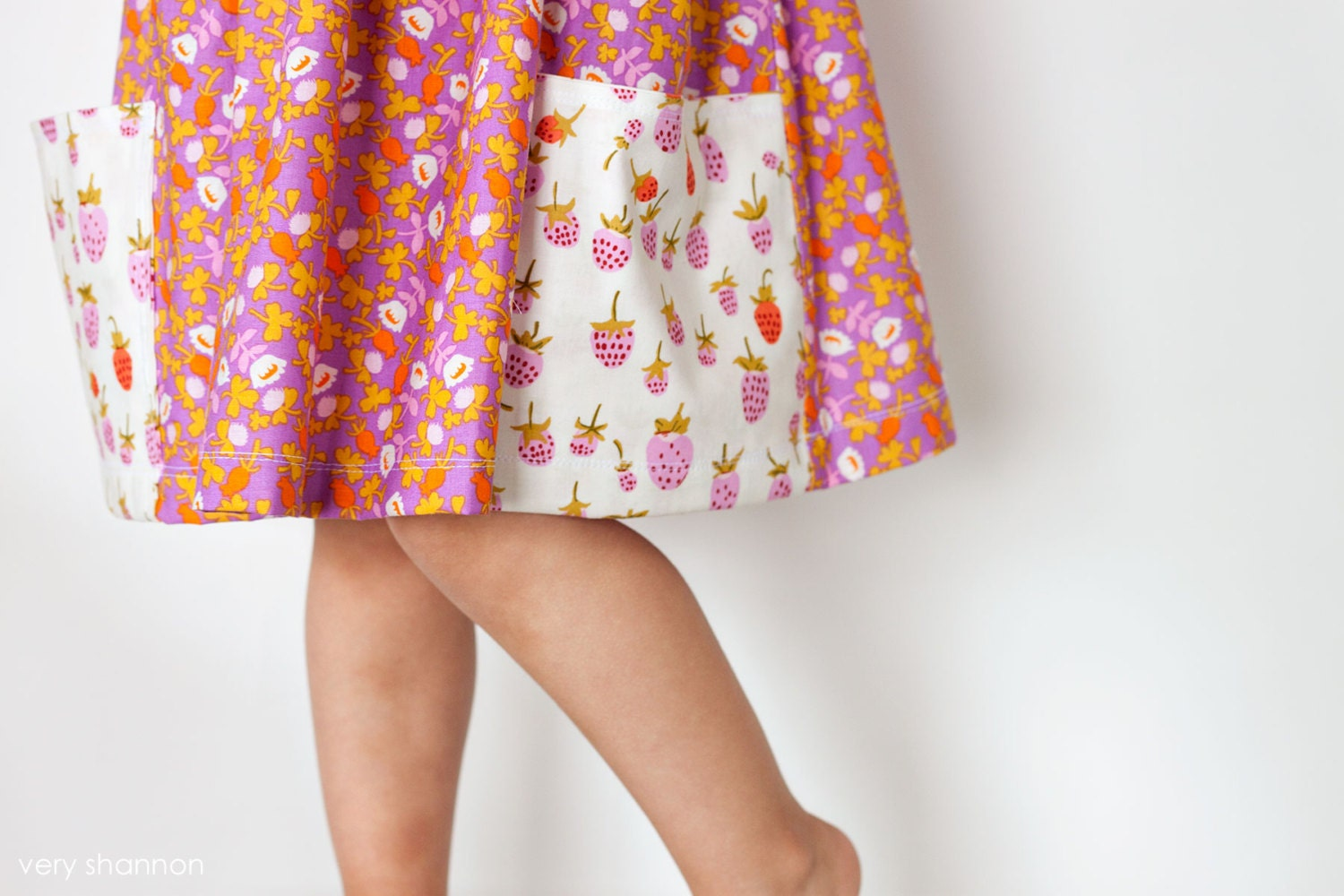 Sally dress sewing pattern vintage modern large by veryshannon