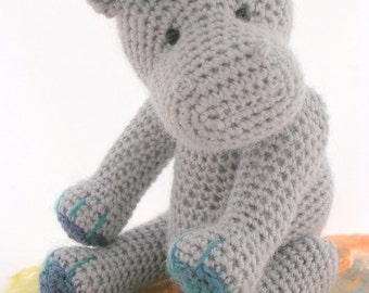 Hetty and Harry Hippo Crochet Pattern