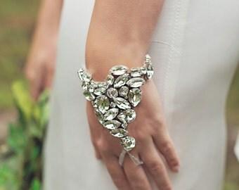 Aurora - Grecian Crystal Hand Cuff