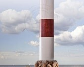 Lighthouse Pepper Mill Rock Pile Coaster - Pepper Dust Containment Tray