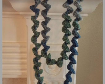 Swirls and Swirls Necklace Crochet Pattern ... Instant Download