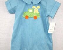 291678- Baby Bubble ~ Baby Boy Clothes ~ Boys Easter ~ Infant Boy Easter Outfit ~ Baby Boy Easter Outfit ~ Twin Babies ~ Toddler Boys Easter