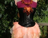 Reserved for Jessica - First Payment - Autumn Woodland Fairy Costume (Bust Size 34) - Free Shipping