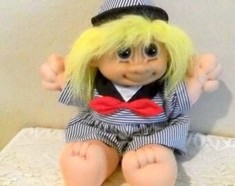 Russ Berrie Sailor Troll Doll