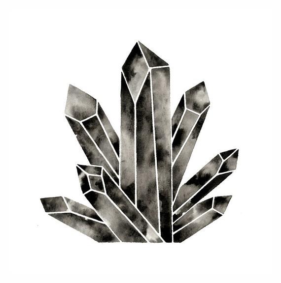 Simple diamond illustration