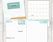 2014 Daily Planner & Calendar Printable - ProjectCottageInk
