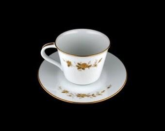 Vintage Noritake Ninon  6609  Flat Cup and Saucer Set - Japan
