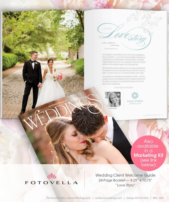 Wedding Photography Marketing Brochure Magazine By FOTOVELLA