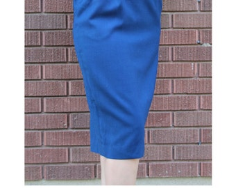 SALE 30% off | Navy Pencil Skirt Vintage Long Skirt Size 6