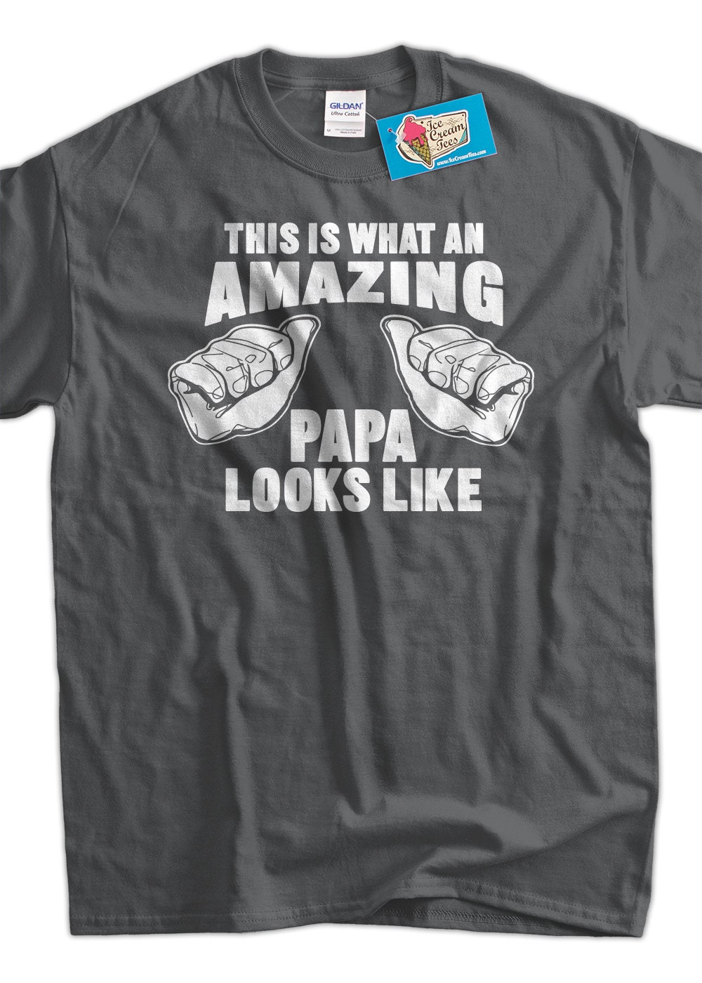 amazing papa t shirt looks like gift idea for grand parents. Black Bedroom Furniture Sets. Home Design Ideas