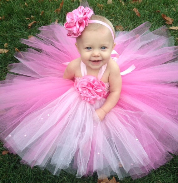 Pretty in Pink Tutu Easter Dress Set Fully Customizable
