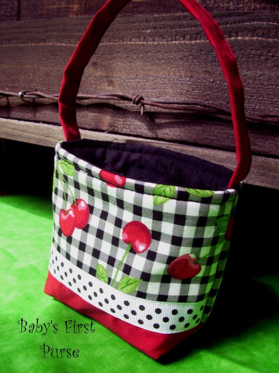 Baby's First Purse, Toddler Cherry Purse