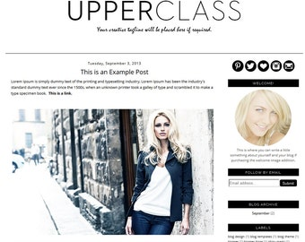 Best Blog Designs Pleasing Of Fashion Blog Template Blogger Free Photos