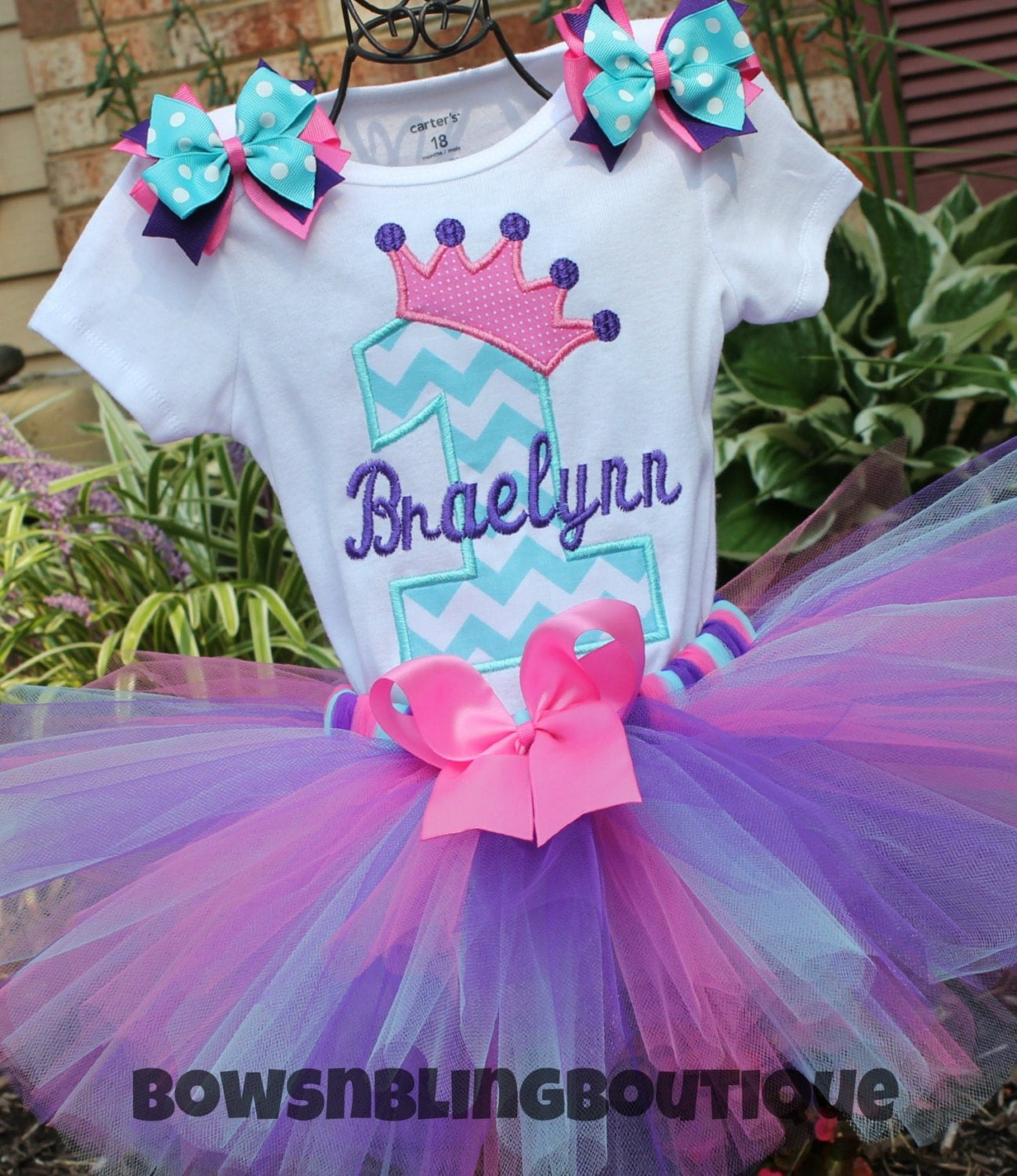 First Birthday Outfit 1st Birthday 2nd Tutu By