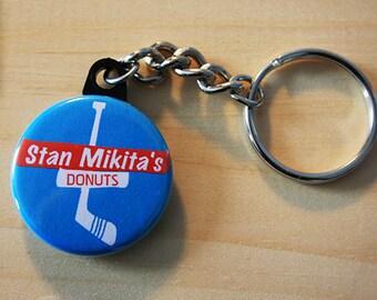 Stan Mikita's Donuts - Wayne's World  //  1.25 inch Keychain