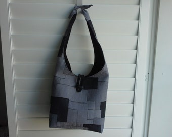 Patchwork Cotton Hobo