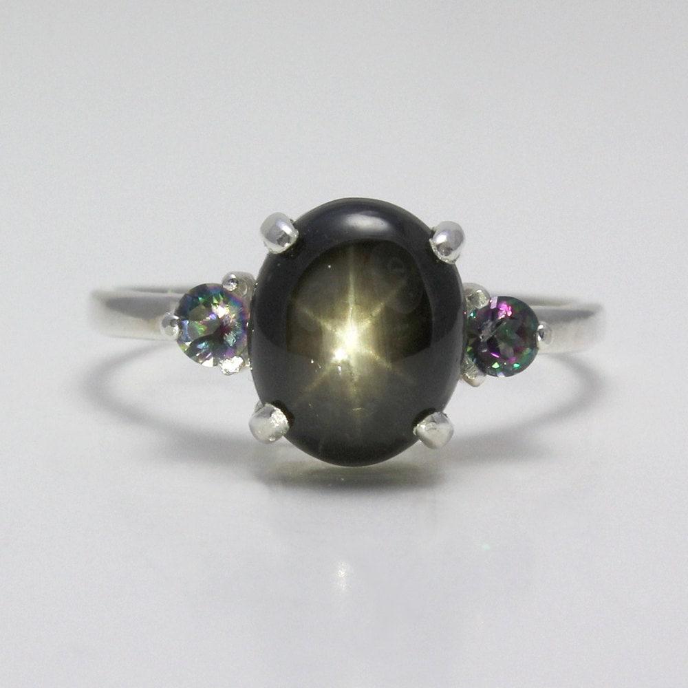 genuine star sapphire ring - photo #9
