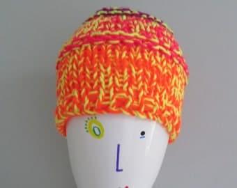Neon Explosion Hat