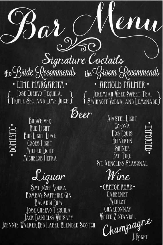 bar menus | dmk burger bar chicago rare bar grill new york ...
