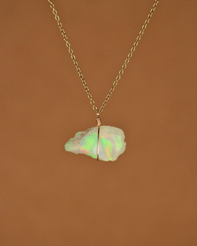 opal necklace opal genuine opal opal a