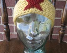 Wonder Woman headband, handmade crochet