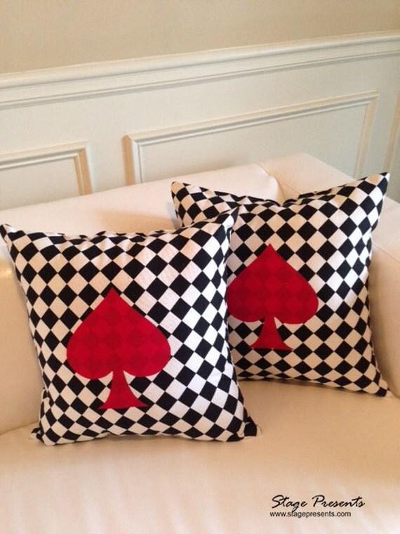 Throw Pillows One Kings Lane : Kate Spade Inspired Throw Pillows Black and White Diamond