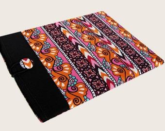 Macbook Pro Sleeve, Macbook Pro Case, 15 inch Macbook Pro Cover, 15 inch Macbook Pro Case, Laptop Sleeve, Pink and Orange Stripes