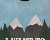 X-Files Twin Peaks Mashup (8x10, 11x17, or 13x19) Poster TV