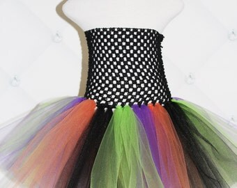 TUTU DRESS...Halloween Witch Tutu Dress...Newborn Tutu...Baby Tutu...Toddler Tutu...Cakesmash Tutu...Birthday Tutu...Halloween Costume