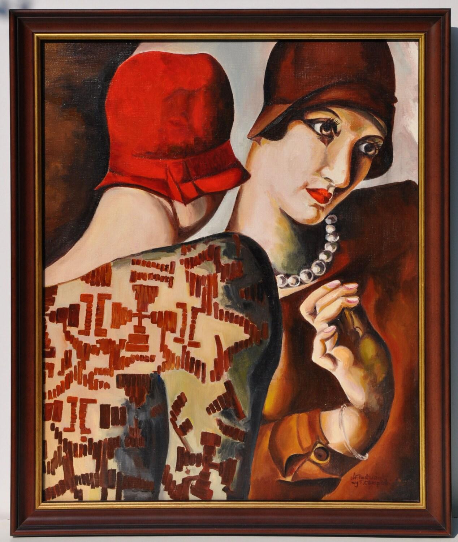 Reserved For Peyps Lempicka Master Copy Tamara Lempicka