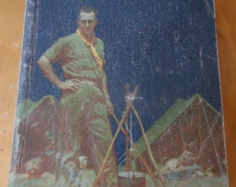 Scoutmaster's Handbook 1965 5th edition 7th printing