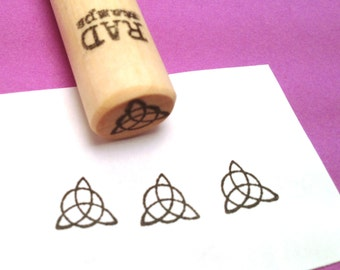 Triquetra Celtic Symbol Trinity Knot Rubber Stamp