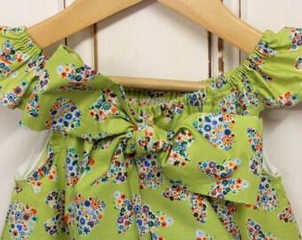 Single Ruffle Sleeve Dress - Size 3