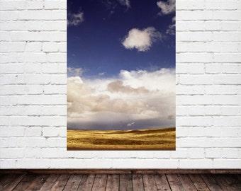 New Mexico Landscape, Open Road Americana Wall Art