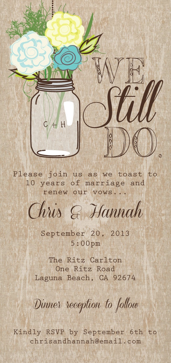 Mason jar printable invitation rustic wedding invitation we description diy printable rustic mason jar invitation or wedding program stopboris Images