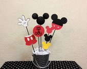 Mickey Mouse Baby Shower Centerpiece - It's a Boy