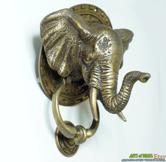 301 moved permanently - Brass elephant door knocker ...