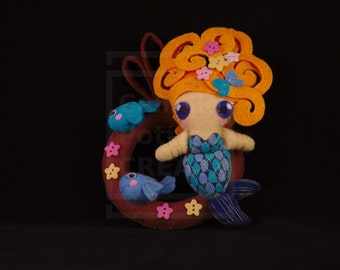 Mermaid/OOAK/handmade Doll