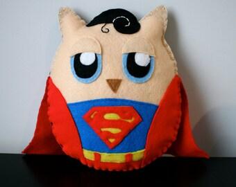 Super Owl - Superman Owl Plushie