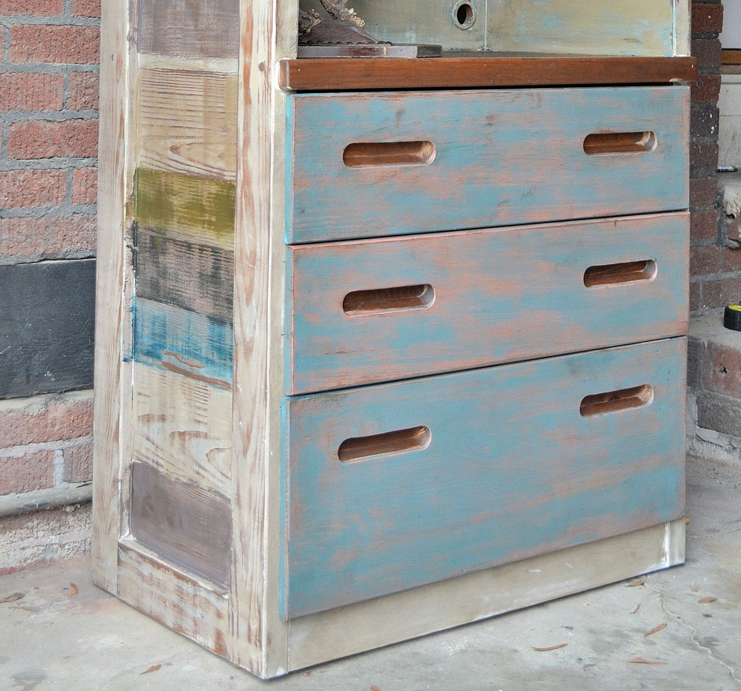 On Sale Painted Dresser Tv Stand Furniture By Blacksheepmill