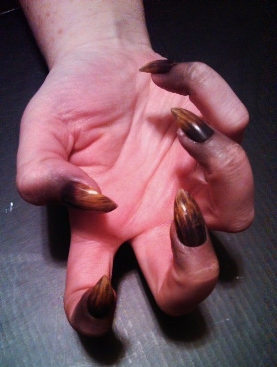 Werewolf Claw False Nails