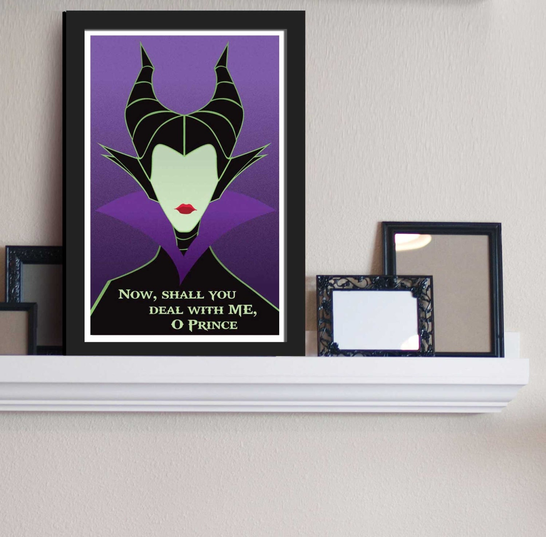 Maleficent Sleeping Beauty Disney Villains Inspired