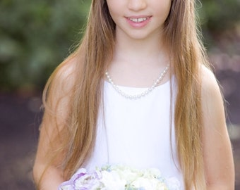 The Christy Flower Halo - Flower Girl Collection -
