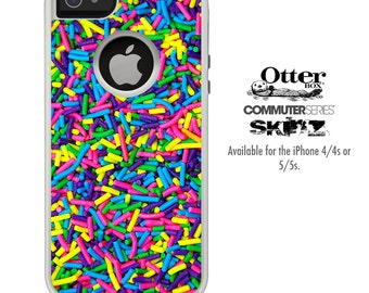 The Neon Sprinkles Skin For The iPhone 4-4s or 5-5s Otterbox Commuter Case