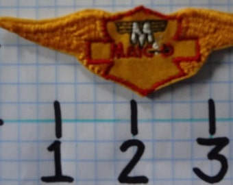 """Vintage """"Maico"""" Motorcycle Patch (003)"""