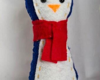 Felt Penguin Doll