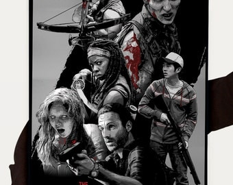 The Walking Dead Poster - Zombie Poster 12 x 18